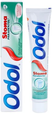 Odol Stoma Paradentol Zahnpasta für gesunde Zähne und Zahnfleisch 1