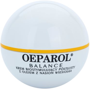 Oeparol Balance Biostimulans-Gesichtscreme für normale und trockene Haut