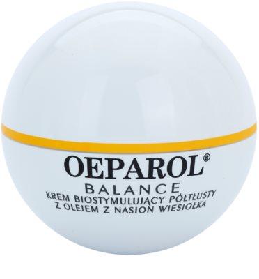 Oeparol Balance creme de rosto bioestimulador para pele normal e seca