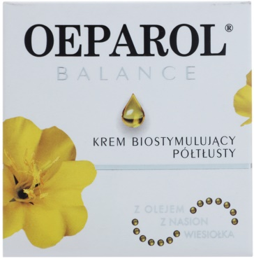 Oeparol Balance біостимулюючий крем для обличчя для нормальної та сухої шкіри 2