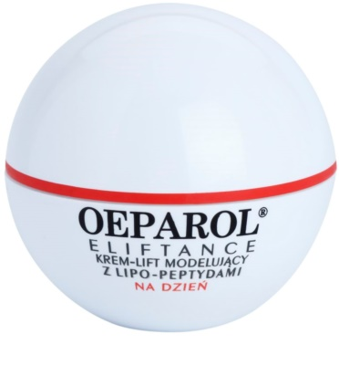 Oeparol Eliftance crema de día con efecto lifting y con lipopéptidos para pieles normales y mixtas