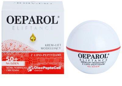 Oeparol Eliftance liftingový denní krém s lipo-peptidy pro normální až smíšenou pleť 1