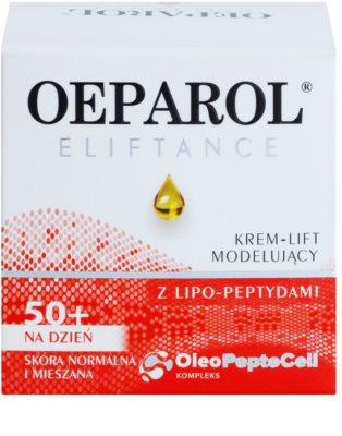 Oeparol Eliftance liftingový denní krém s lipo-peptidy pro normální až smíšenou pleť 2