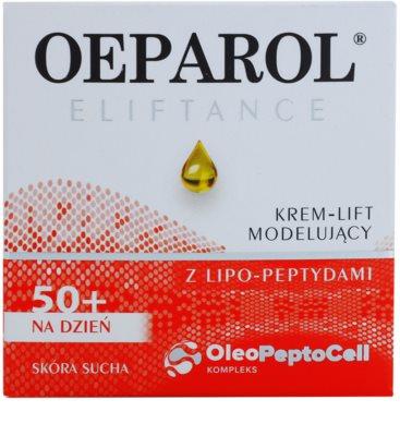 Oeparol Eliftance lifting dnevna krema z lipopeptidi za suho kožo 2