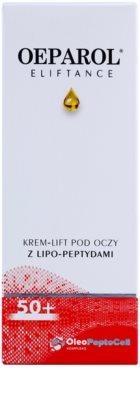 Oeparol Eliftance crema para contorno de ojos con lipopéptidos 2
