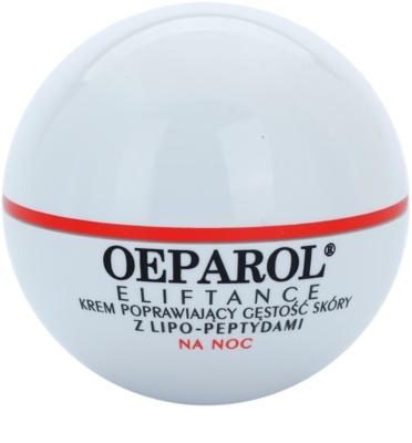 Oeparol Eliftance creme regenerador para restauração da densidade da pele com lipopeptidos