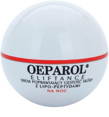 Oeparol Eliftance regenerierende Creme zur Erneuerung der Hautfülle mit Lipopeptiden