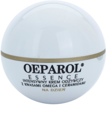 Oeparol Essence дневен подхранващ крем с омега киселини и церамиди за суха или много суха кожа