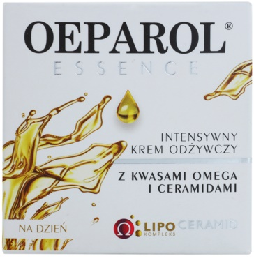 Oeparol Essence denný výživný krém s omega kyselinami a ceramidmi pre suchú až veľmi suchú pleť 2