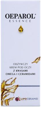 Oeparol Essence creme nutritivo para os olhos com acidos de ômega e ceramidas 2