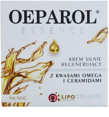 Oeparol Essence crema de noche regeneradora con ácidos grasos omega y cerámides para pieles secas y muy secas 2