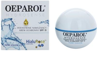 Oeparol Hydrosense intenzív hidratáló krém SPF 15 1