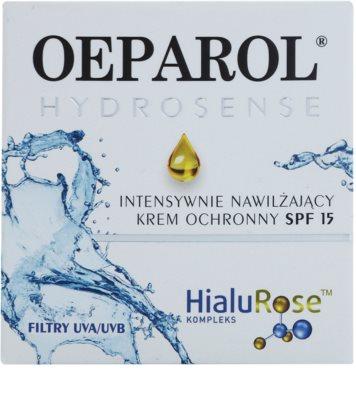 Oeparol Hydrosense интензивен хидратиращ гел SPF 15 2