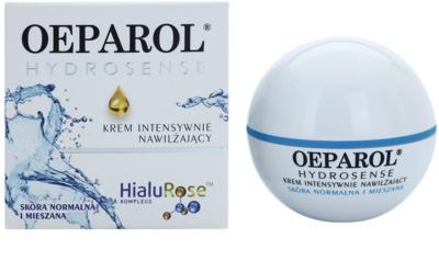 Oeparol Hydrosense intensive, hydratisierende Creme für normale Haut und Mischhaut 1