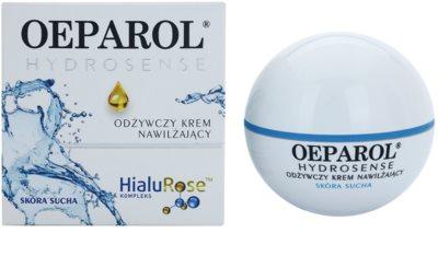 Oeparol Hydrosense hranilna in vlažilna krema za suho kožo 1