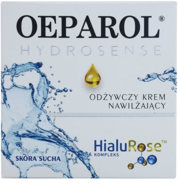 Oeparol Hydrosense crema hidratante y nutritiva para pieles secas 2