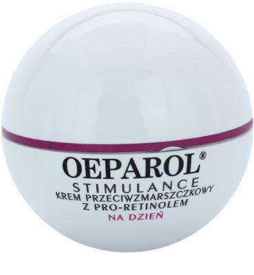 Oeparol Stimulance дневен противобръчков крем с Про-ретинол за нормална към смесена кожа