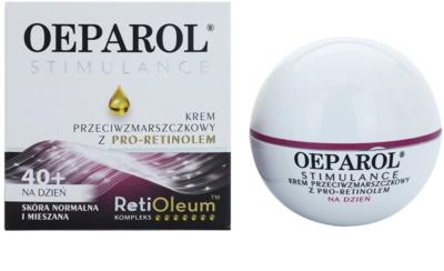 Oeparol Stimulance денний крем проти зморшок з Про-ретинолом для нормальної та змішаної шкіри 1