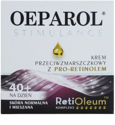 Oeparol Stimulance денний крем проти зморшок з Про-ретинолом для нормальної та змішаної шкіри 2