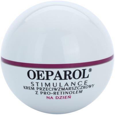 Oeparol Stimulance crema de zi hidratanta anti-riduri cu Pro-Retinol ten uscat