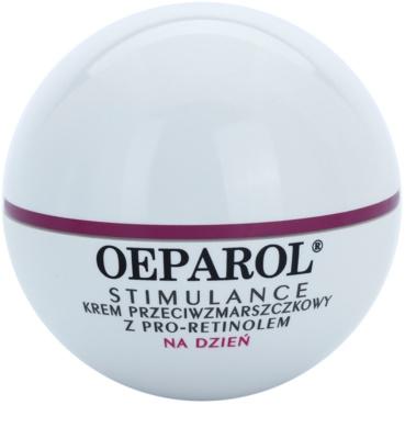 Oeparol Stimulance Tagescrme gegen Falten mit Pro-Retinol für trockene Haut