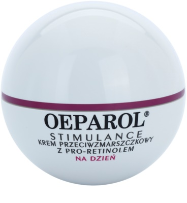 Oeparol Stimulance дневен противобръчков крем с Про-ретинол за суха кожа