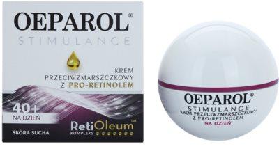 Oeparol Stimulance Tagescrme gegen Falten mit Pro-Retinol für trockene Haut 1