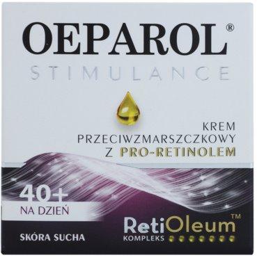 Oeparol Stimulance Tagescrme gegen Falten mit Pro-Retinol für trockene Haut 2