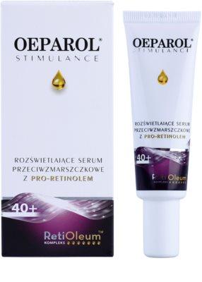 Oeparol Stimulance sérum iluminador e antirrugas com Pró- Retinol para todos os tipos de pele 1