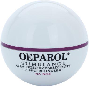 Oeparol Stimulance crema de noche antiarrugas con pro-retinol  para todo tipo de pieles