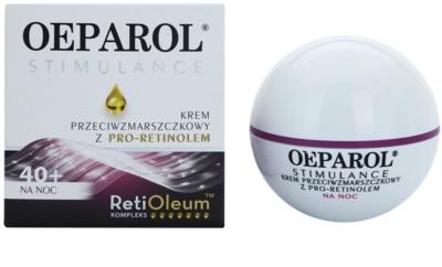 Oeparol Stimulance Anti-Falten-Nachtcreme mit Pro-Retinol für alle Hauttypen 1