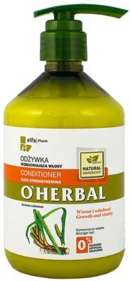 O'Herbal Acorus Calamus erősítő kondicionáló a gyenge hajra