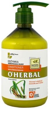 O'Herbal Acorus Calamus зміцнюючий кондиціонер для слабкого волосся