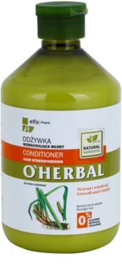 O'Herbal Acorus Calamus erősítő kondicionáló a gyenge hajra 1