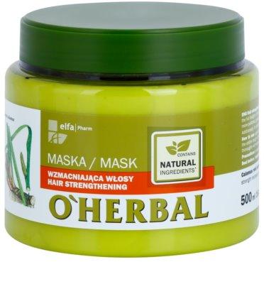 O'Herbal Acorus Calamus posilující maska pro jemné vlasy