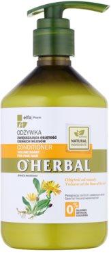 O'Herbal Arnica Montana objemový kondicionér pro jemné vlasy