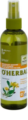 O'Herbal Arnica Montana spray para dar volumen para cabello fino