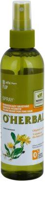 O'Herbal Arnica Montana spray volumoso para cabelo fino