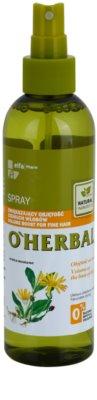 O'Herbal Arnica Montana spray para dar volumen para cabello fino 1