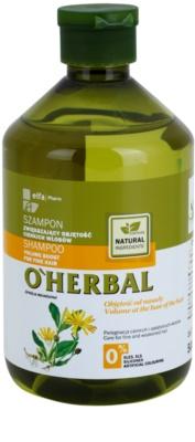 O'Herbal Arnica Montana objemový šampon pro jemné vlasy