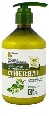 O'Herbal Betula Alba balsam  pentru uz de zi cu zi pentru par normal