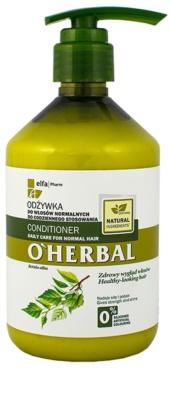 O'Herbal Betula Alba кондиціонер для щоденного використання для нормального волосся