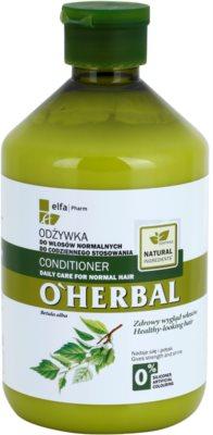 O'Herbal Betula Alba Conditioner zur täglichen Benutzung für normales Haar 1