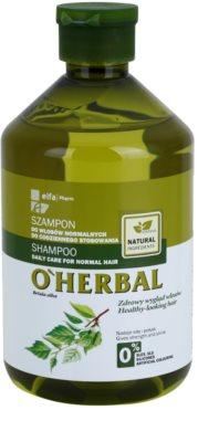 O'Herbal Betula Alba champú para uso diario para cabello normal