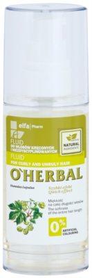 O'Herbal Humulus Lupulus fluid pro nepoddajné a krepatějící se vlasy