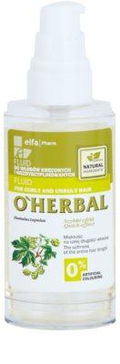O'Herbal Humulus Lupulus Fluid für unnachgiebige und strapaziertes Haar 1