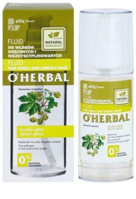 O'Herbal Humulus Lupulus Fluid für unnachgiebige und strapaziertes Haar 2