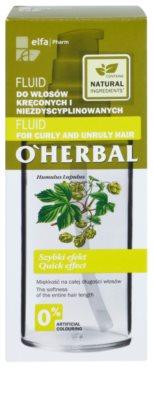 O'Herbal Humulus Lupulus Fluid für unnachgiebige und strapaziertes Haar 3