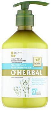 O'Herbal Linum Usitatissimum Conditioner für trockenes und beschädigtes Haar