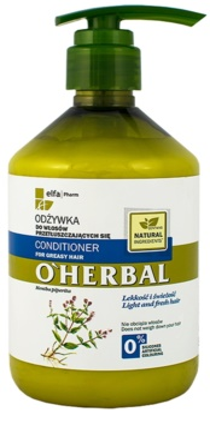 O'Herbal Mentha Piperita acondicionador para cabello graso